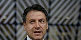 L'ex premier Giuseppe Conte