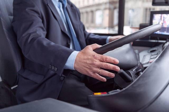 Autista dell'autobus (foto di repertorio)