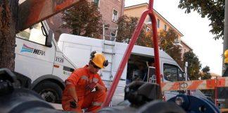 Lavori stradali Hera (foto di repertorio)