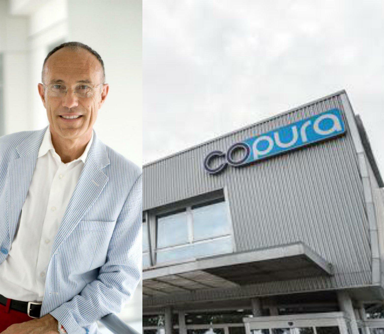 Corrado Pirazzini e la sede della Copura