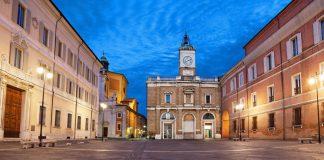 Piazza del Popolo Ravenna (foto di repertorio)