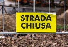 Strada chiusa (immagine di repertorio shutterstock)