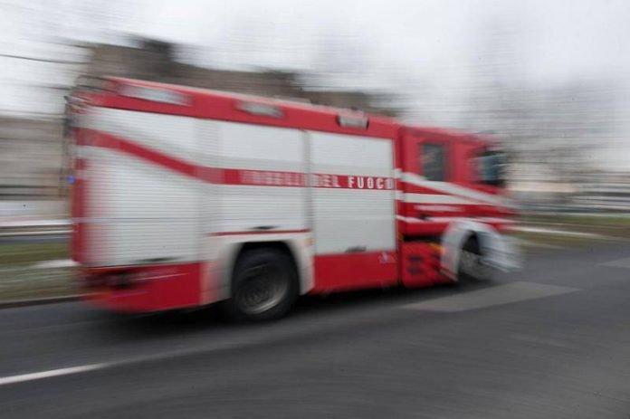 Un camion dei Vigili del Fuoco (foto di repertorio)