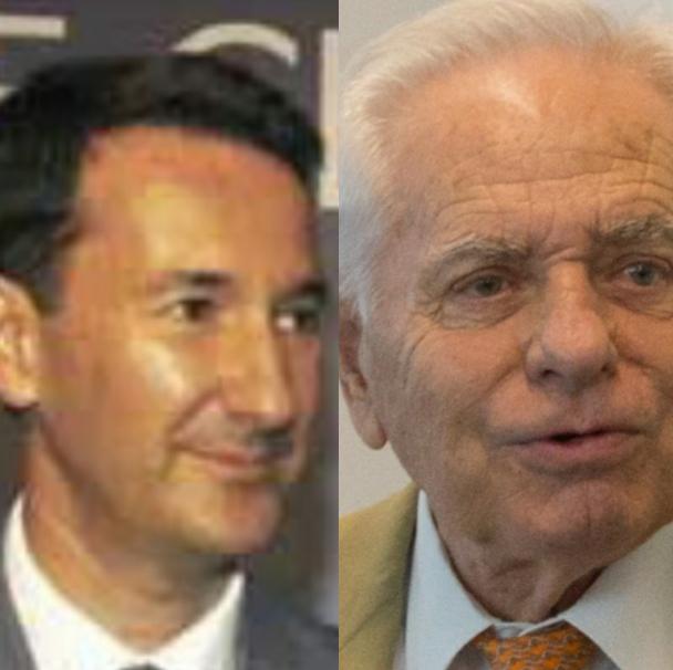 A sx: Guido Ottolenghi. A dx: Luciano Martini