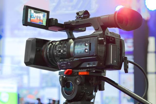 Telecamera professionale (foto di repertorio)