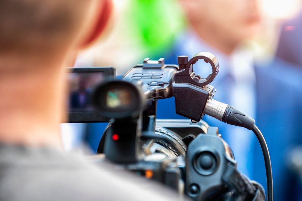 Cameraman (foto di repertorio)
