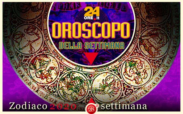Oroscopo dall'8 al 14 luglio