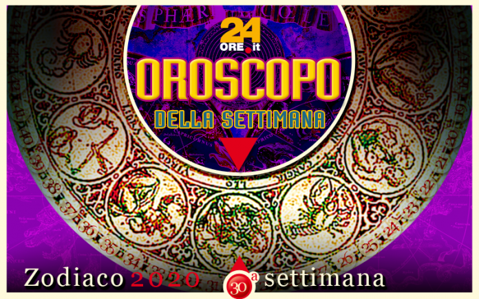 Oroscopo dal 22 al 28 luglio