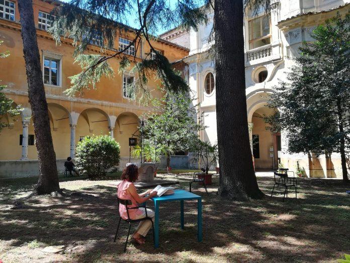 Chiostro della biblioteca Classense