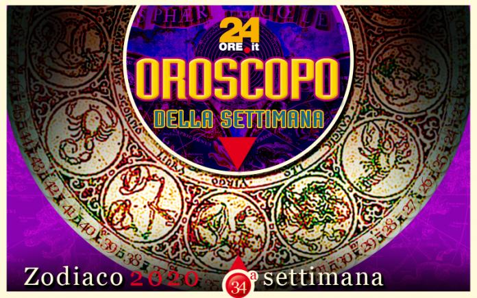 Oroscopo dal 19 al 25 agosto 2020