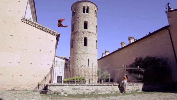Un frame del video Dante MyRavenna