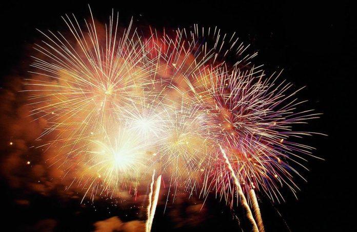 Fuochi d'artificio (foto di repertorio)