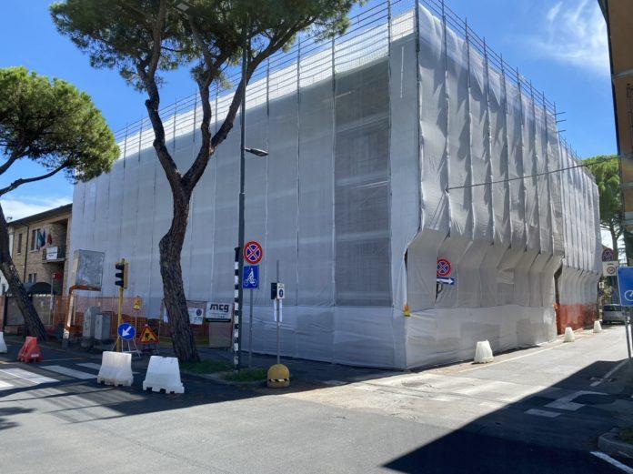 Gli uffici comunali di via Maggiore in ristrutturazione