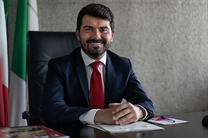 Alessio Mammi , assessore regionale all'agricoltura e all'agroalimentare, caccia e pesca (foto dal sito della Regione)