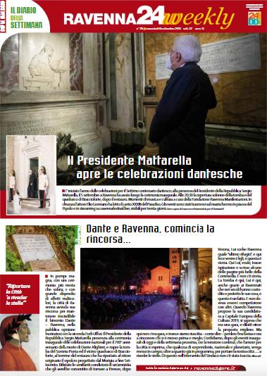 La copertina del nuovo Ravenna24Weekly