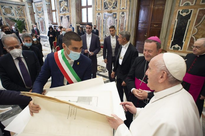 Udienza papale (Servizio Fotografico Vatican-Media )