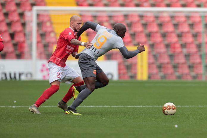 Benjamin Mokulu in azione a Trieste
