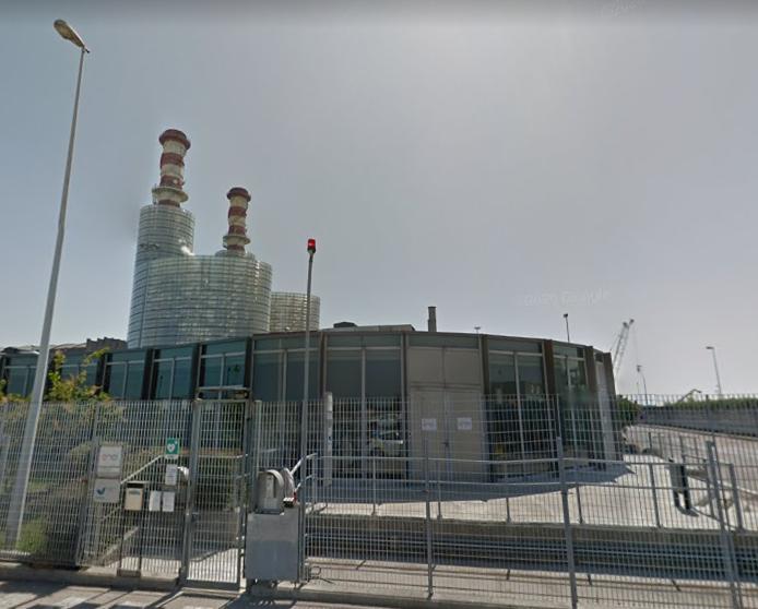 Centrale Enel Porto Corsini (foto da Google Maps)