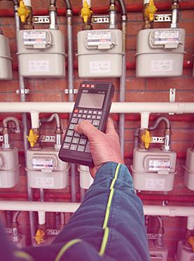 Contatore del gas (foto di repertorio)