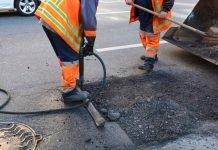 Lavori di rifacimento asfalto (foto di repertorio shutterstock)