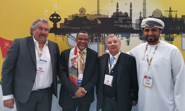 Mingozzi incontra, nel corso di OMC 2019, i rappresentanti delle imprese del comparto energetico del Sultanato dell'Oman.