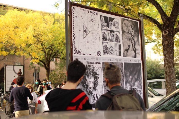 Uno dei poster dell'esposizione