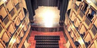 L'interno del Teatro Masini visto dall'alto (foto di repertorio)