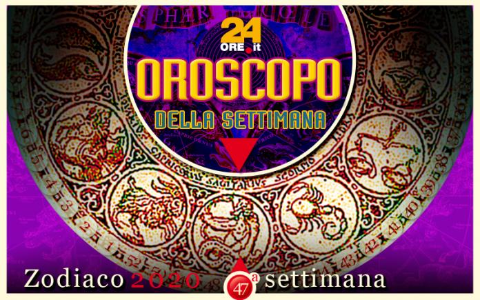 Oroscopo dal 18 al 24 novembre