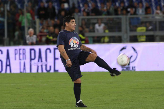 Diego Armando Maradona (ph: Marco Iacobucci Epp Shutterstock.com)