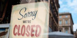 Closed (foto di repertorio shutterstock)