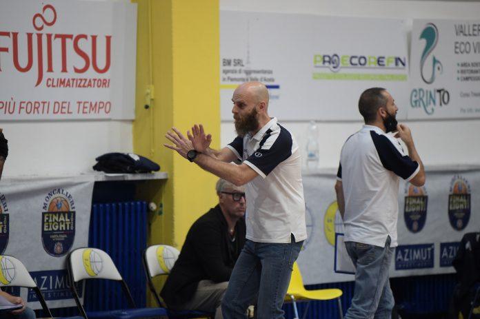 Coach Massimo Cancellieri (foto Matta-Ciamillo)