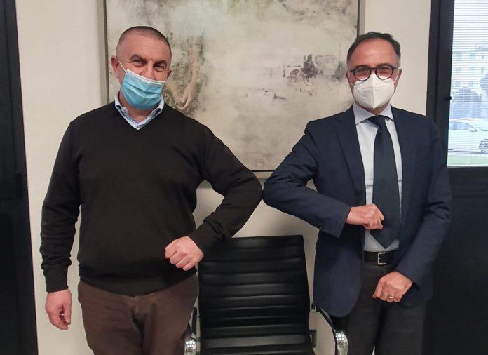 Tonino Bernabè e Giannicola Scarcella