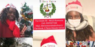 I Babbo Natale de Il Terzo Mondo Onlus che hanno consegnato i doni ai bambini