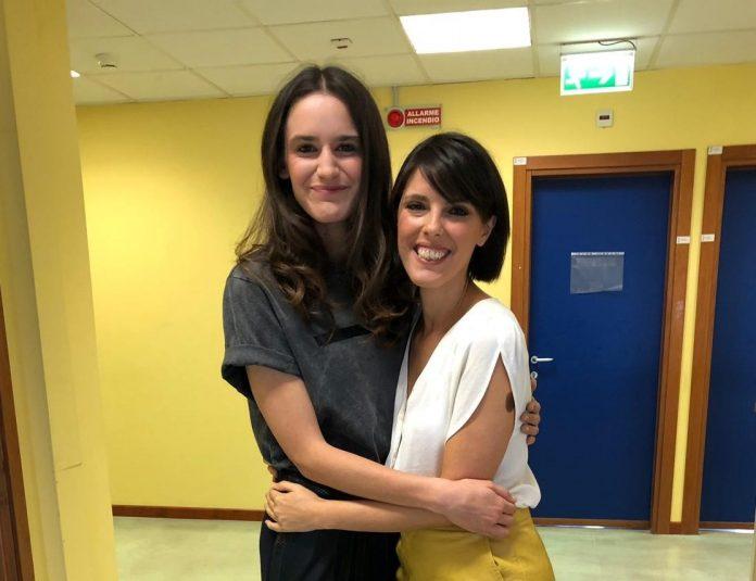 Valentina Bellè (attrice della serie Tv) e Valentina Santandrea (autrice del blog)