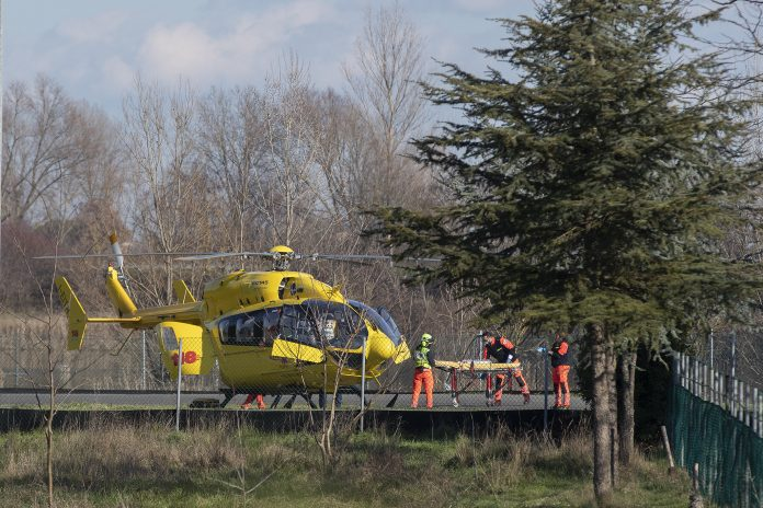 Incidente al Lago Max: il 118 soccorre un 27enne caduto dalla mini moto