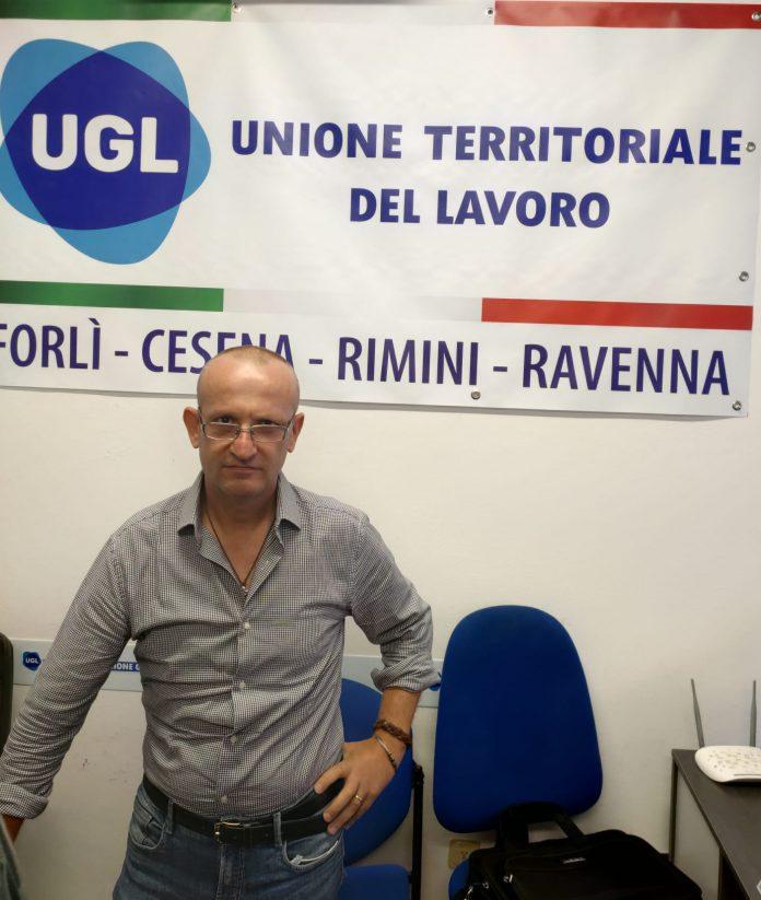 Segretario provinciale dell' Ugl Terziario di Ravenna, Giuseppe Greco.
