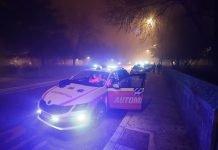 La polizia e il 118 all'Itis, luogo in cui è avvenuta la tragedia