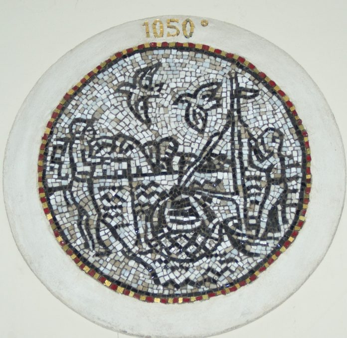 Mosaico Casa Matha (foto di repertorio)