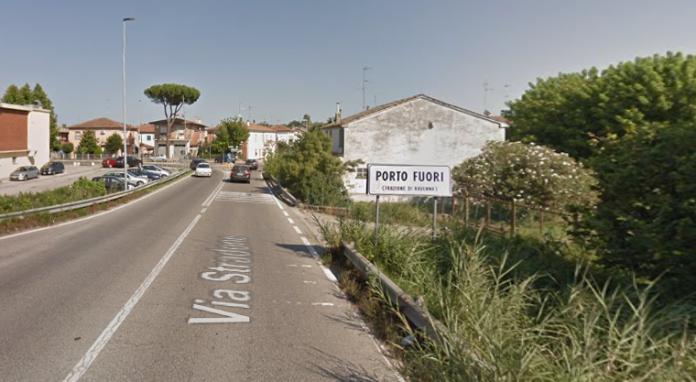 Porto Fuori, via Stradone (foto da Google Maps)
