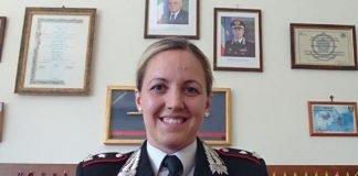 Comandante della Compagnia manfreda, Magg. Antonietta Petrone