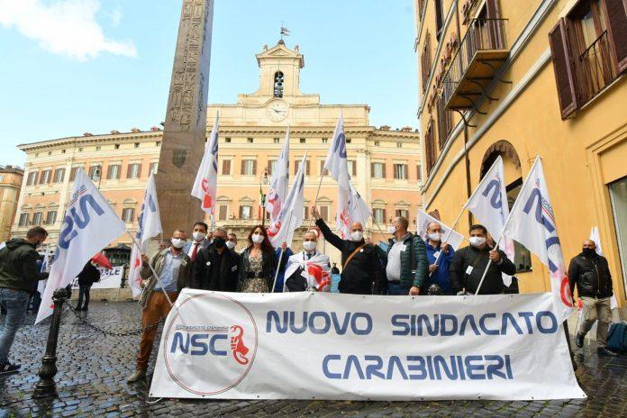 La manifestazione Nsc a Roma