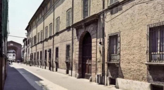 Istituto Tavelli in via Mazzini a Ravenna