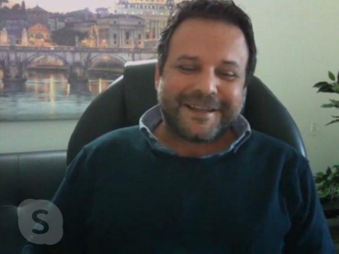 Giuseppe Roccafiorita (foto dalla pagina Facebook di Michele de Pascale)